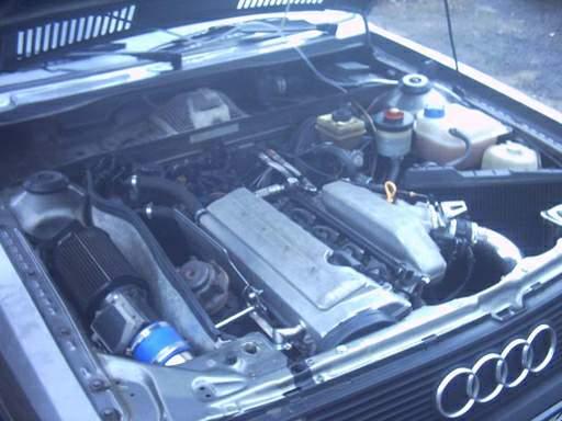 Audi 90 Quattro Turbo. (1 people) photo 1 _2_