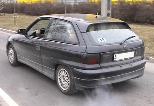 Turbo Converted Opel Kadett Gsi. Opel Astra GSI 8v (Fiba)